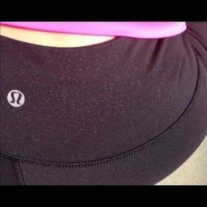 Lululemon sparkle tights size 4